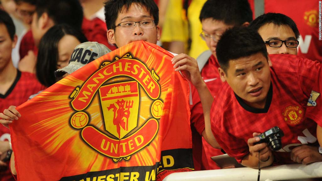 manchester united china fans